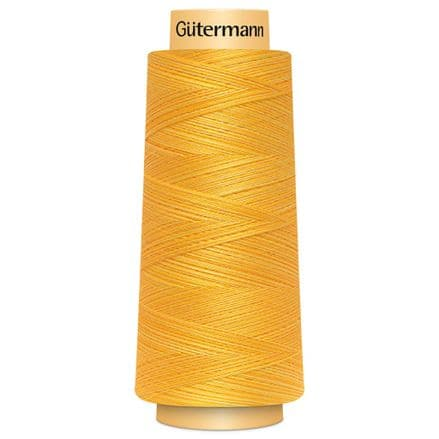 Col. 9918 Gutermann Natural Cotton Thread 1371m Cones